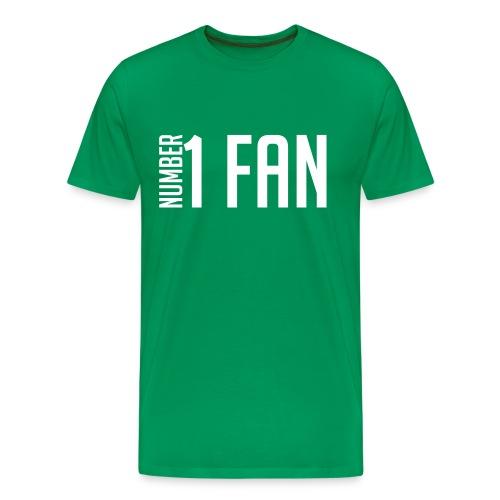 Number 1 Fan - Men's Premium T-Shirt