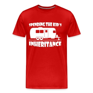 Spending the kid's inheritance - Men's Premium T-Shirt