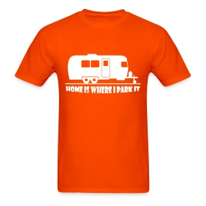 Home is where I park it - Men's T-Shirt