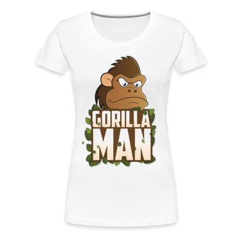 Gorilla Man Girl - Women's Premium T-Shirt