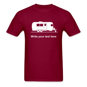 Trailer - add your own text t-shirt - Men's T-Shirt