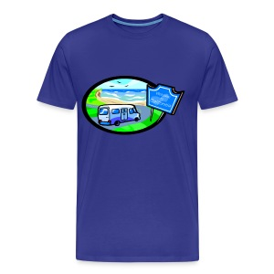 RV California - Men's Premium T-Shirt