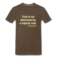 T-Shirts ~ Men's Premium T-Shirt ~ TRUTH IS NOT DETERMINED