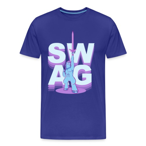 SWAG.SHIRT (dudes)  - Men's Premium T-Shirt