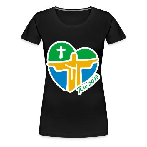 World Youth Day 2013 - Women's Premium T-Shirt
