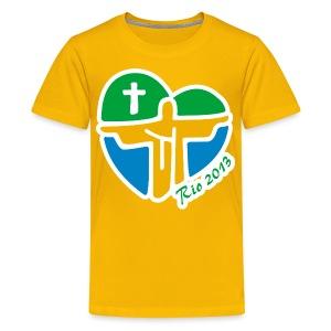 World Youth Day 2013 - Kids' Premium T-Shirt