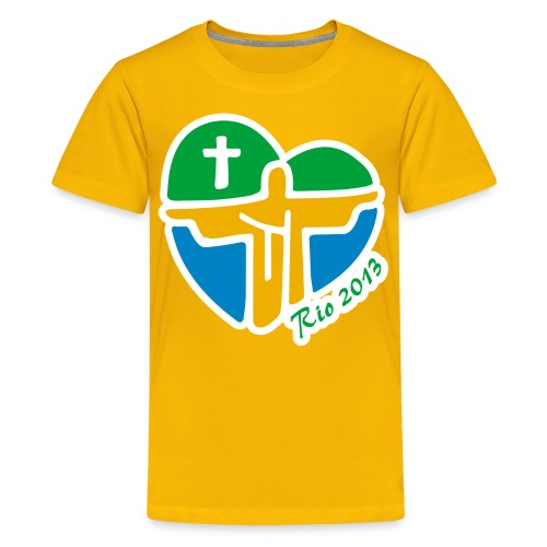 World Youth Day 2013 - Kids' Premium T-Shirt