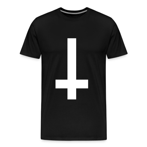 Inverted Cross 2 - Men's Premium T-Shirt