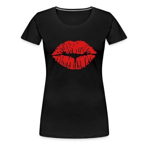 KISSES - Women's Premium T-Shirt