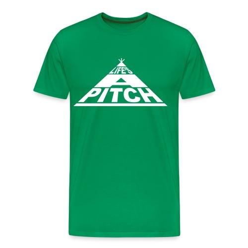 Life's a pitch camping t-shirt - Men's Premium T-Shirt