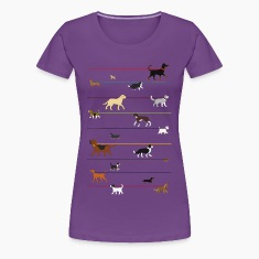 leash dog 2 Women's T-Shirts