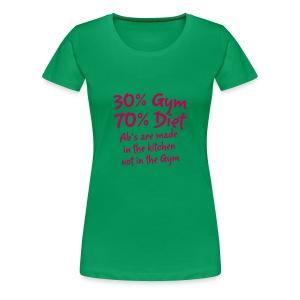 ABS ARE MADE TEE - Women's Premium T-Shirt