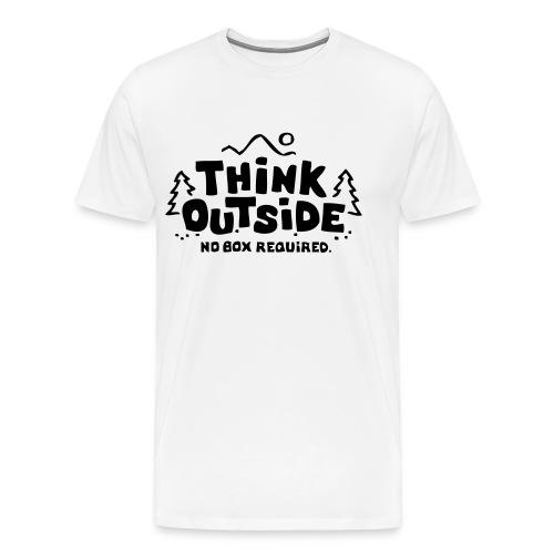 Think Outside no box required T Shirt - Men's Premium T-Shirt