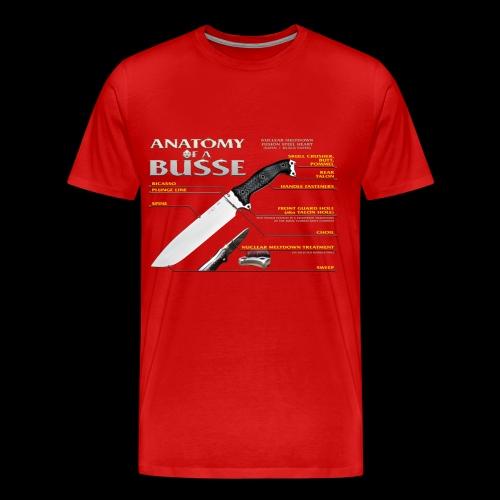 Anatomy of a Busse Big Boy Tee - Men's Premium T-Shirt