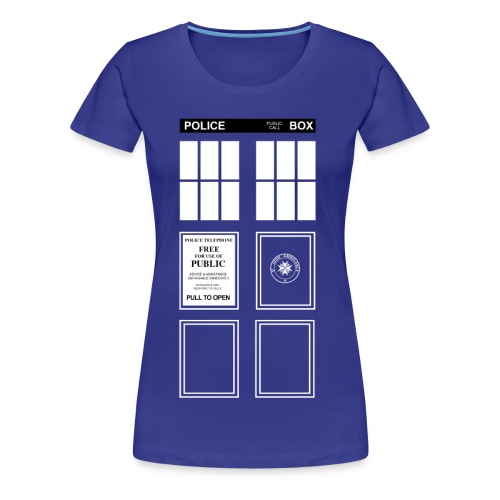 Doctor Who TARDIS - Women's Premium T-Shirt
