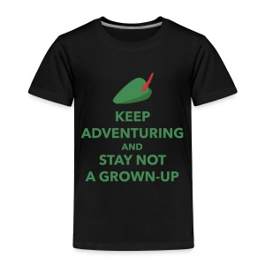 Toddler Keep Adventuring - Toddler Premium T-Shirt