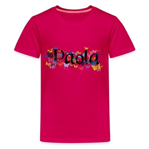 Spring Name Paola - Kids' Premium T-Shirt