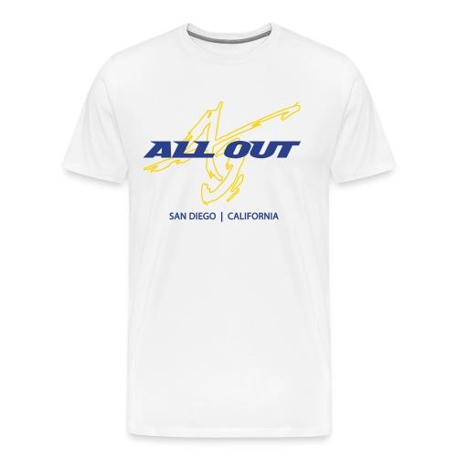 AO SD Men's Heavyweight T Wt - Men's Premium T-Shirt