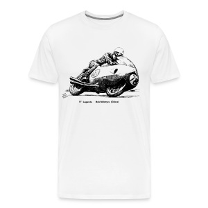 TT Legends Bob McIntyre - Men's Premium T-Shirt