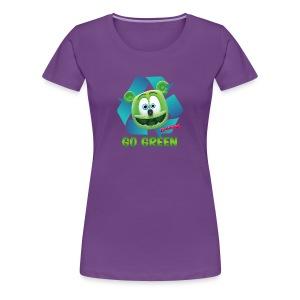 Gummibär (The Gummy Bear) Recycle Earth Day Women's T-Shirt - Women's Premium T-Shirt