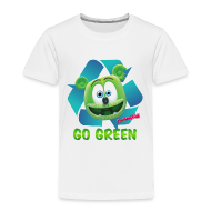 Baby & Toddler Shirts ~ Toddler Premium T-Shirt ~ Gummibär Recycle Earth Day Toddler T-Shirt