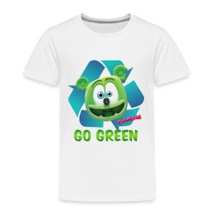 Gummibär (The Gummy Bear) Recycle Earth Day Toddler T-Shirt - Toddler Premium T-Shirt