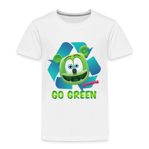 Gummibär Recycle Earth Day Toddler T-Shirt - Toddler Premium T-Shirt