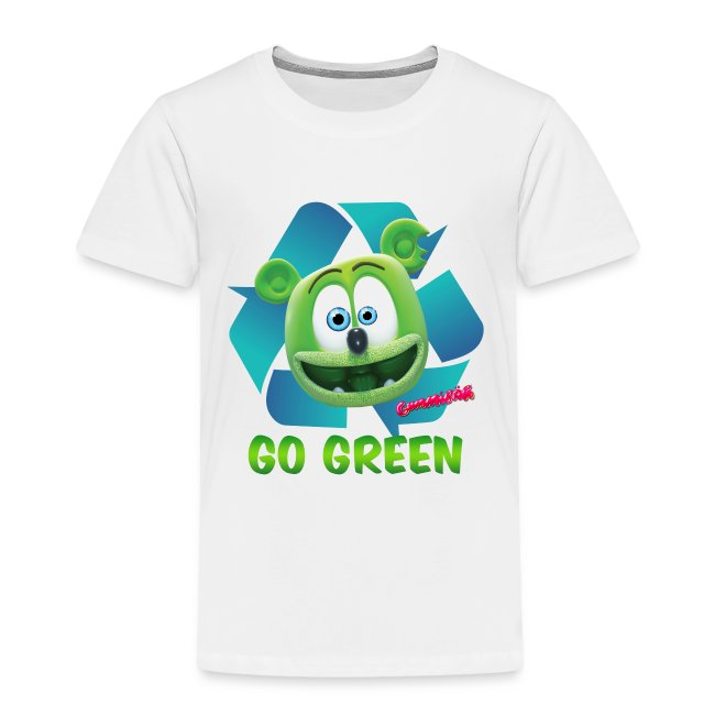 Gummibär (The Gummy Bear) Recycle Earth Day Toddler T-Shirt