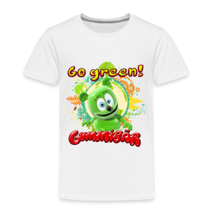 Gummibär Go Green Earth Day Toddler T-Shirt - Toddler Premium T-Shirt