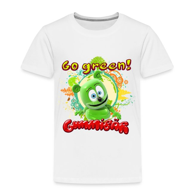 Gummibär (The Gummy Bear) Go Green Earth Day Toddler T-Shirt