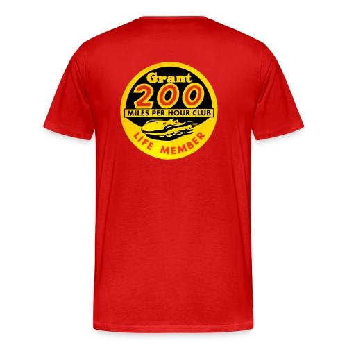 200 Mile an Hour Club - Men's Premium T-Shirt