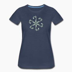 Bass & treble clef - glow in the dark! Women's T-Shirts