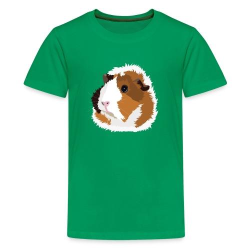 Retro Guinea Pig 'Elsie' Kid's T-Shirt (no text) - Kids' Premium T-Shirt