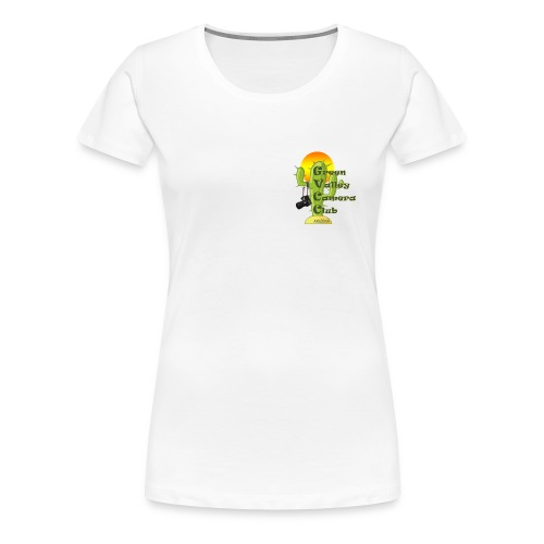 GVCC Logo for Silkscreen.png - Women's Premium T-Shirt