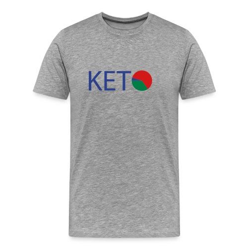 KETO Diet Macro Men's 3XL & 4XL Cotton T - Men's Premium T-Shirt