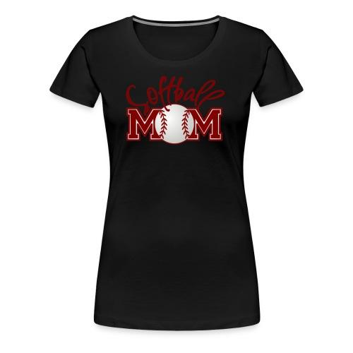Softball Mom - Women's Premium T-Shirt