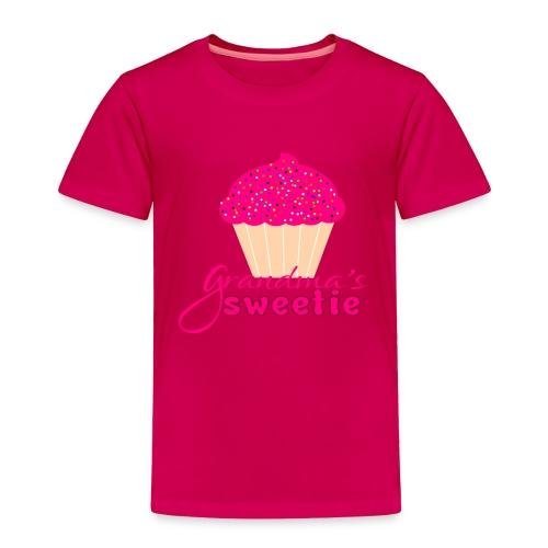 Grandma's sweetie - Toddler Premium T-Shirt