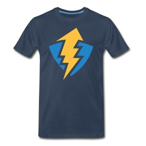 Thunder Shield - Hero - Navy - Mens - Men's Premium T-Shirt