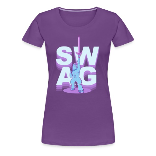 SWAG.SHIRT (chicks)  - Women's Premium T-Shirt