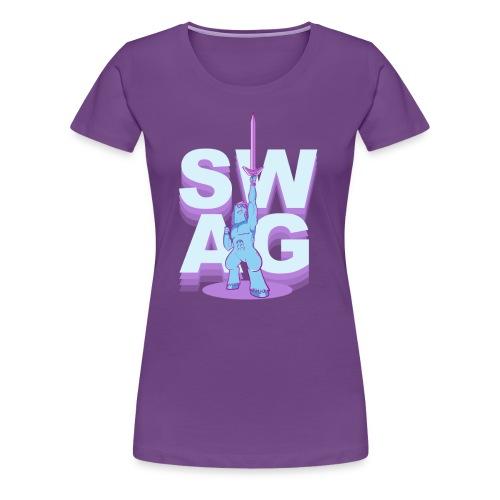 SWAG.SHIRT (chicks)  - Women's Premium T-Shirt