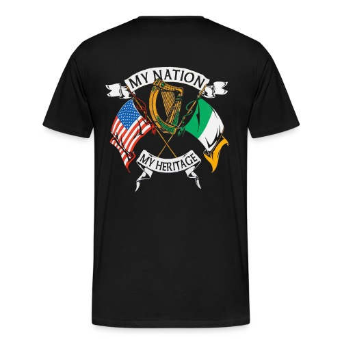 My Nation, My Heritage - Men's Premium T-Shirt