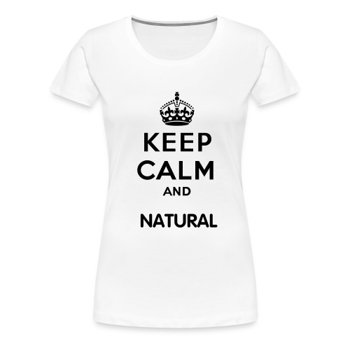 Natural - Women's Premium T-Shirt