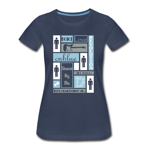 Composition CNblue 2 - Women's Premium T-Shirt