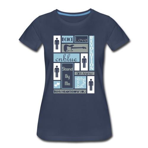 Composition CNblue 2 - Women's Premium T-Shirt