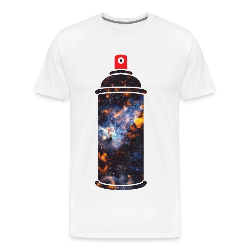 Cosmic spray paint t shirt spreadshirt for How to paint on t shirt