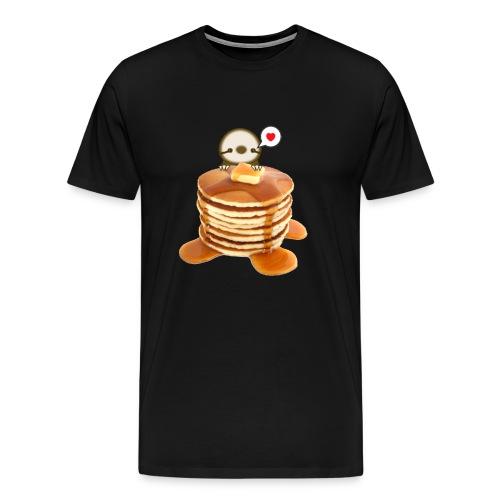 Men's Pancakes Sloth - Men's Premium T-Shirt