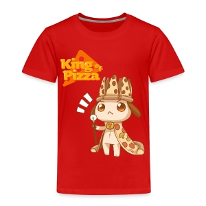 King of Pizza - Toddlers [ANY COLOR] - Toddler Premium T-Shirt