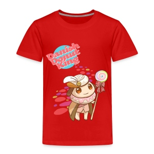 Donut King - Toddlers [ANY COLOR] - Toddler Premium T-Shirt