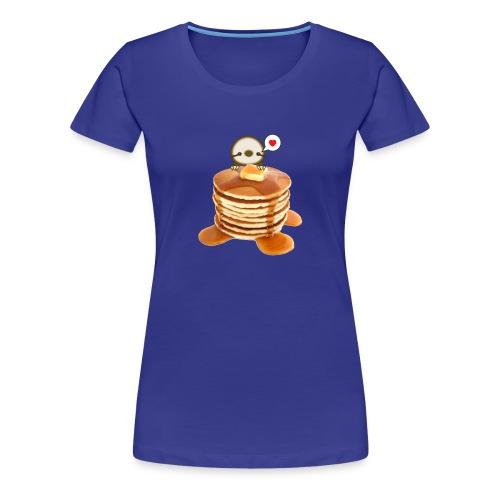 Women's Pancakes Sloth - Women's Premium T-Shirt