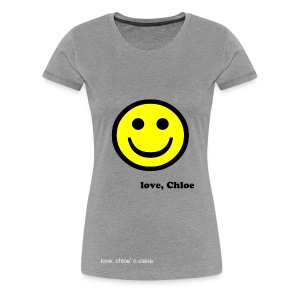 smiley claire - Women's Premium T-Shirt